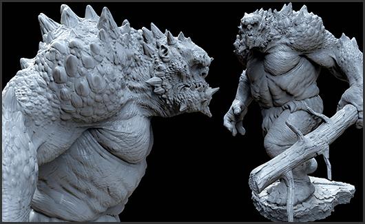 Herói, criatura e dragão. - Nesta etapa vamos estudar um pouco mais sobre criação de design.